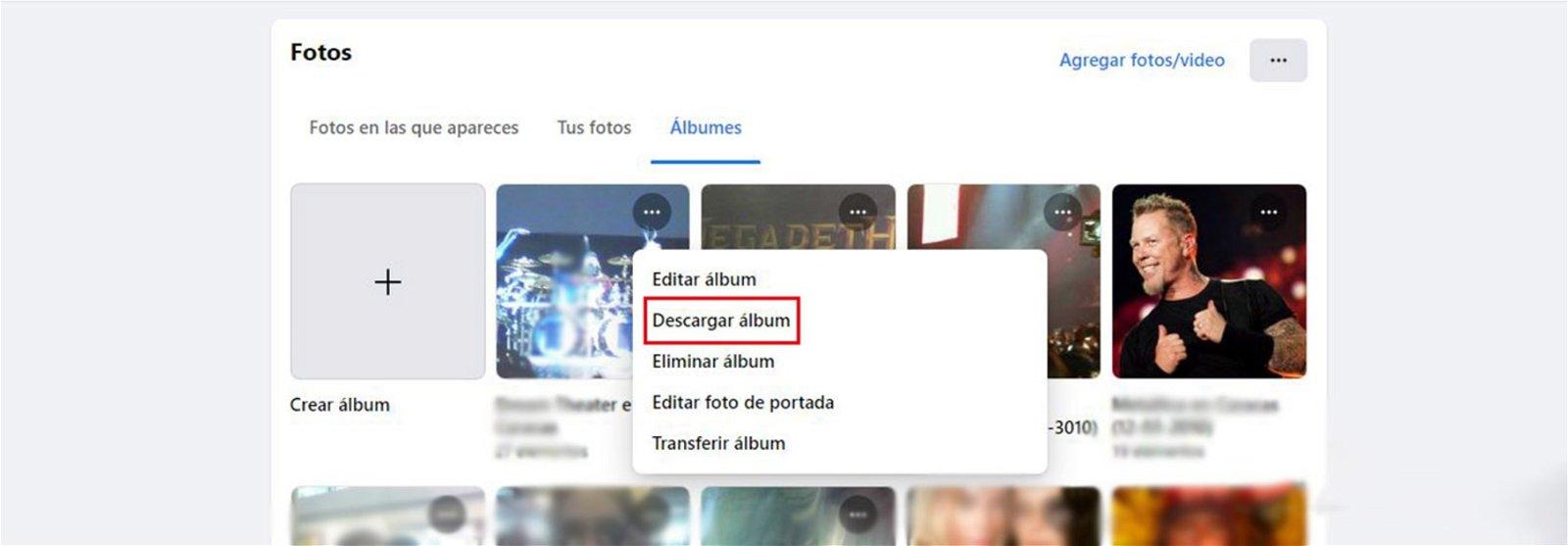Cómo descargar fotos y vídeos de Facebook fácil y rápido