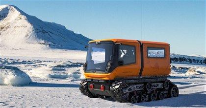 Venturi Antarctica, un vehículo todoterreno puramente eléctrico para circular por la nieve