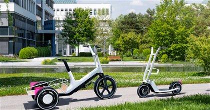 BMW Dynamic Cargo, el patinete eléctrico que ha presentado la firma alemana