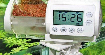 Con estos comederos automáticos para acuarios tus peces no pasarán hambre