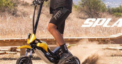 Splach Transformer, una motocicleta eléctrica a escala con un montón de cualidades