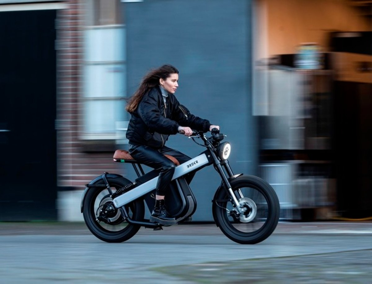 BREKR crea el ciclomotor eléctrico del futuro, una opción que aspira a ser un éxito