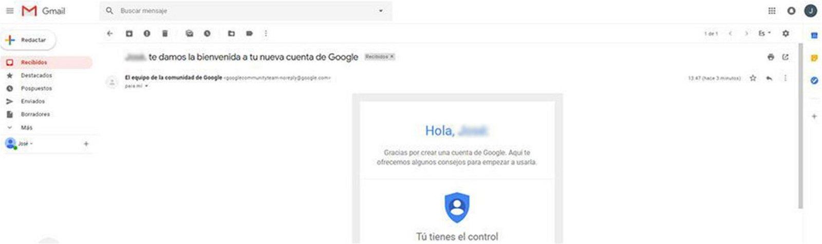 Cómo saber la fecha de creación exacta de tu cuenta de Gmail
