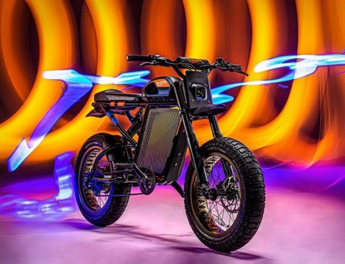 Hot Wheels y SUPER73, una combinación para crear una motocicleta eléctrica de cross