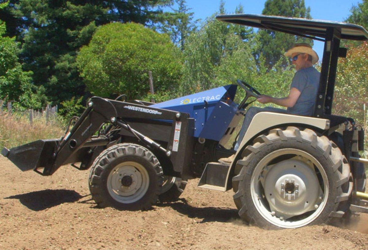 Solectrac, un tractor eléctrico que ya se puede comprar por 75.000 dólares