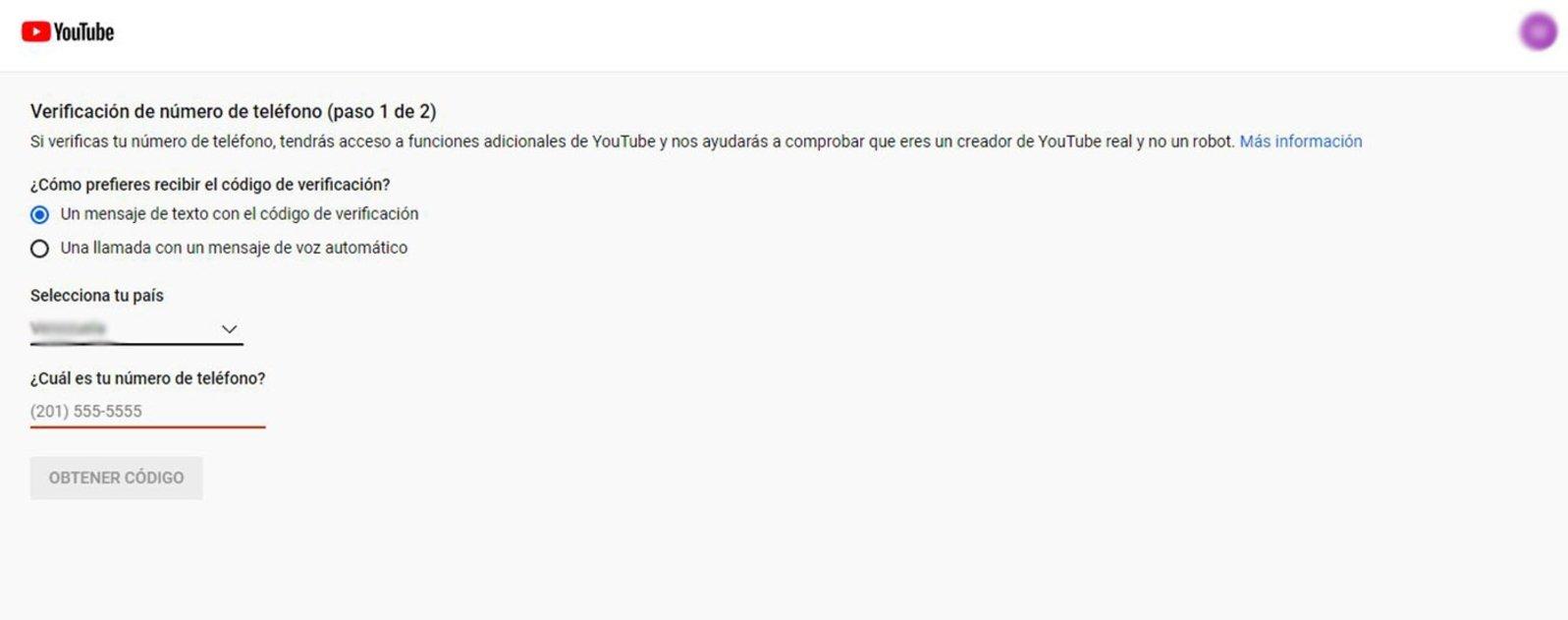 Cómo verificar tu cuenta de YouTube en pocos pasos