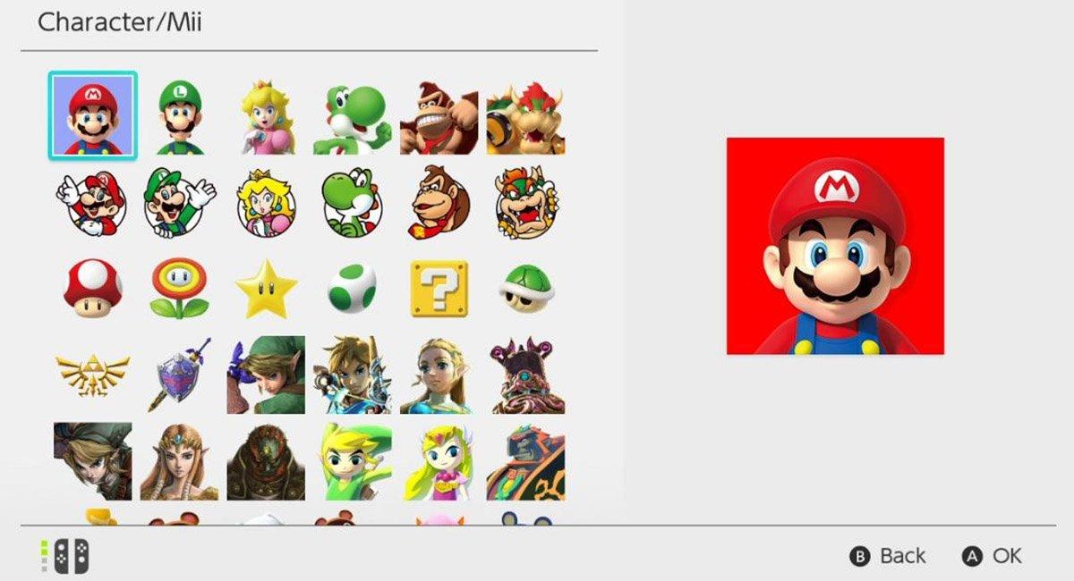 Cómo cambiar tu imagen y nombre de perfil en Nintendo Switch
