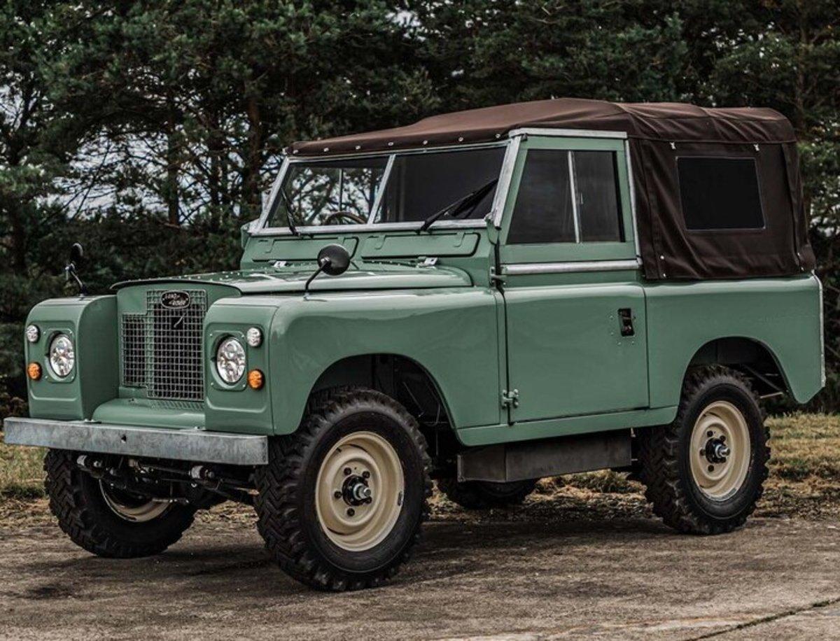 Land Rover Defender histórico, he aquí la demostración de que puede electrificarse