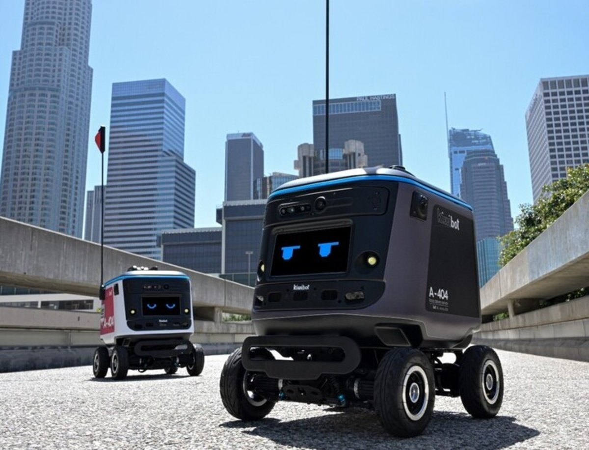 KiwiBot, un robot pensado para repartir productos a domicilio de forma sencilla