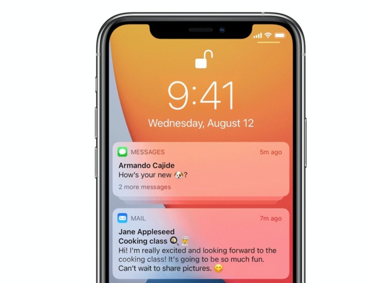 iOS 15: productividad y funcionalidades para compartir