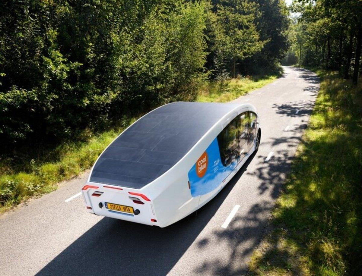 Stella Vita, la primera caravana que funciona exclusivamente con energía solar