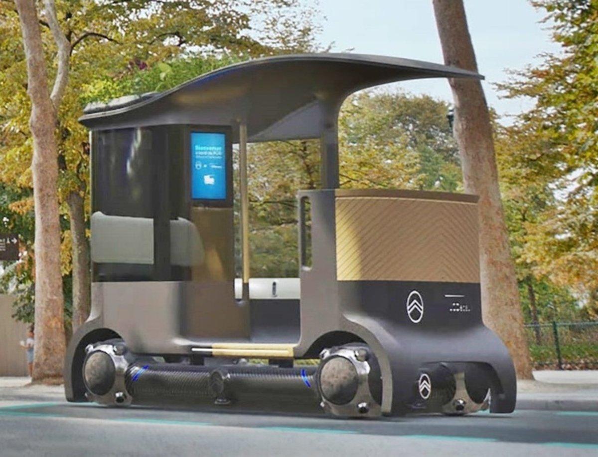 Citroën Skate, una nueva forma de concebir la movilidad sostenible en la ciudad