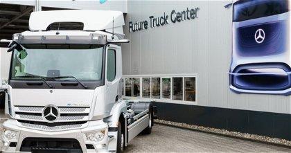 Mercedes-Benz y el camión eActros, así es su primer camión de carretera puramente eléctrico