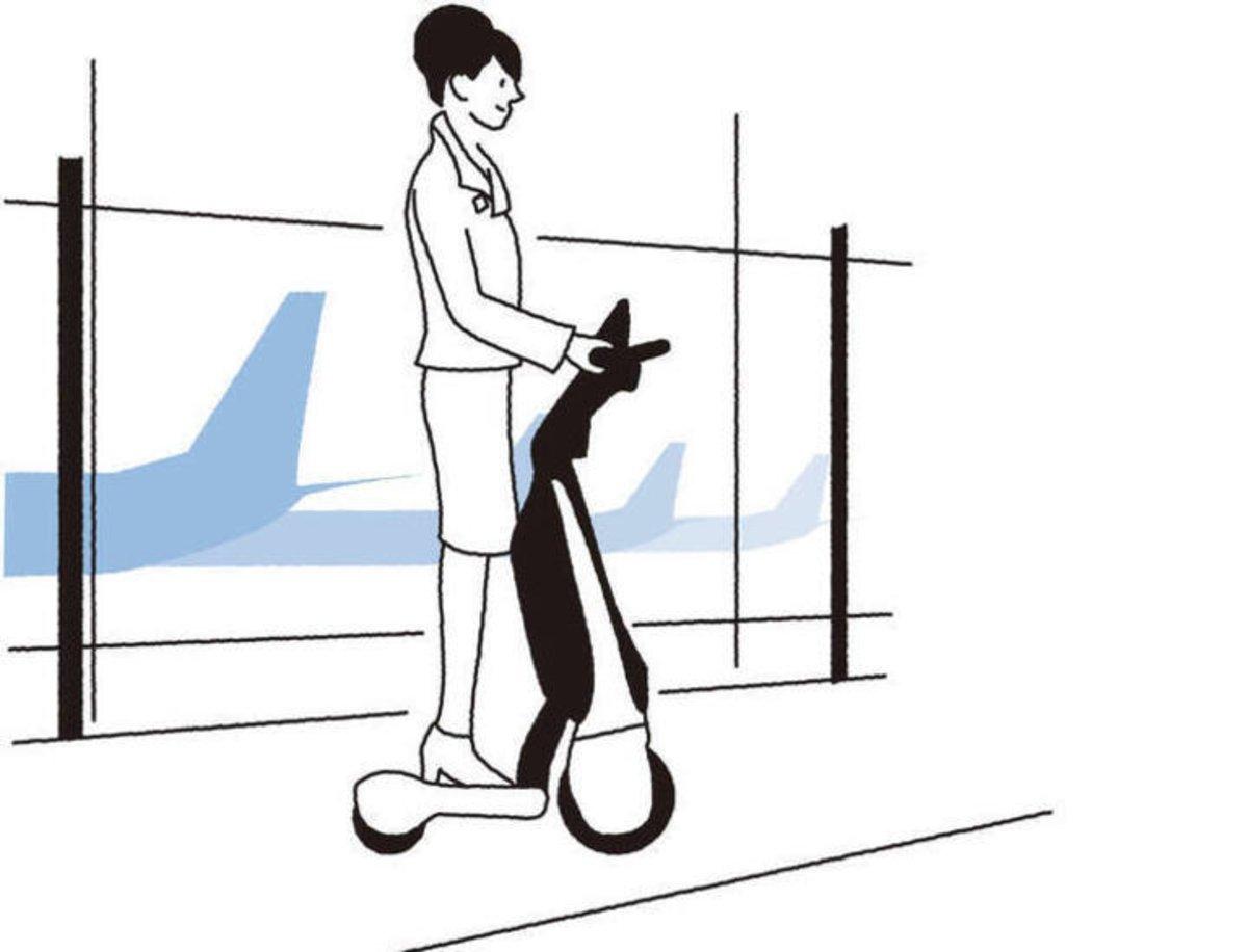 Toyota C + walkT, el patinete eléctrico de 3 ruedas pensado para ejecutivos